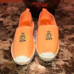 Polo Ralph Lauren crest slip on size 8.5  men's